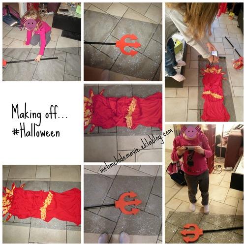 A travers leurs yeux d'enfants, #Halloween #Mois 2, makingoff