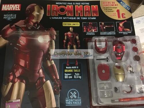 N° 1 Construire l'armure d' Iron man - Test