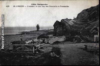 cartes-postales-photos-L-arrivee-a-la-mer-avec-feue-Demoise