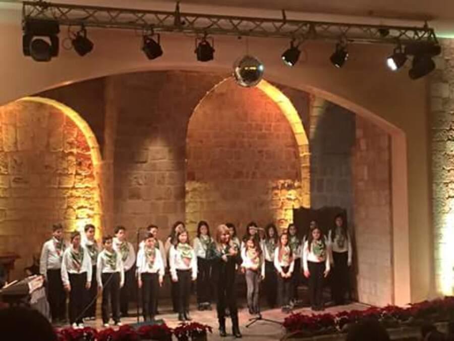 Premier prix pour la chorale du Collège Notre Dame du Balamand.