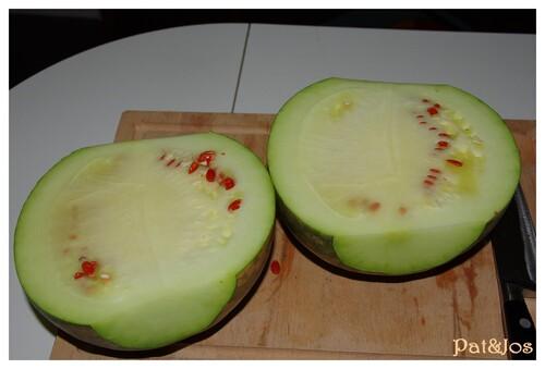 Confiture de melon d'eau