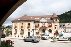 L'hôtel de ville de Thônes