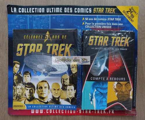 N° 1 Star Trek la collection ultime des comics