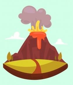Mini lapbook des volcans