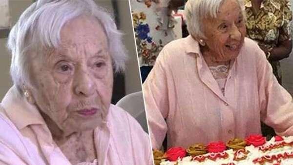 Une Américaine âgée de 107 ans a révélé le secret de sa longévité.