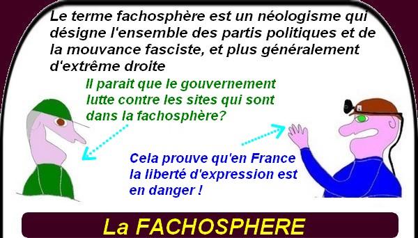 La fachosphère envahit le web ou l'islam en France.