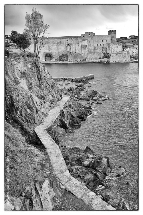 La côte Vermeille, de Collioures à Port Vendres...