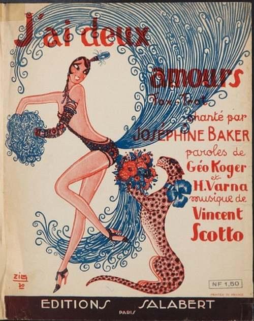 Le grand Almanach de la France : Joséphine BAKER
