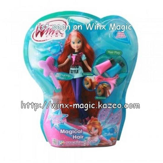 Poupée Bloom Cheveux Magiques!