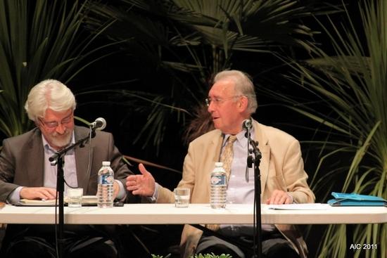 Philippe Delstanche et Alain Hoccart