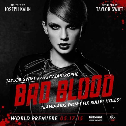 """""""Bad Blood"""" : le clip de Taylor Swift très attendu sortira demain"""