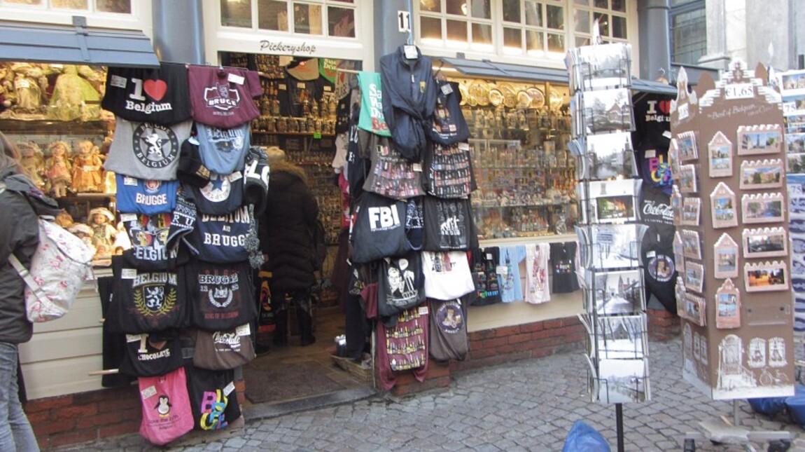 Bruges (les magasins)