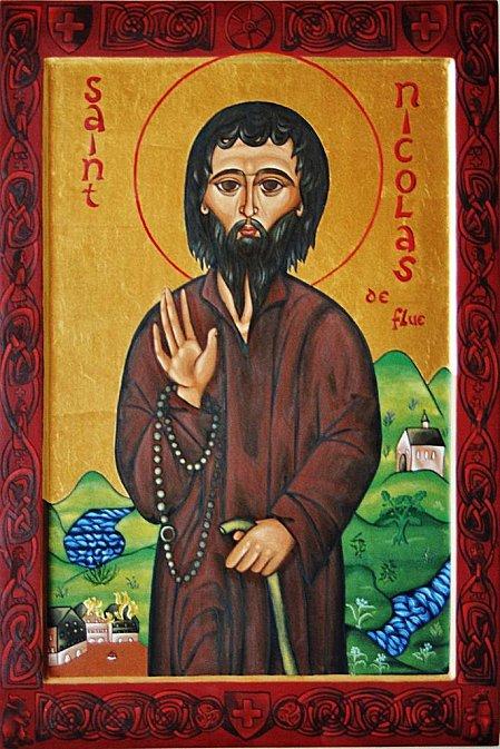 Miracle Eucharistique Suisse saint Nicholas de Flüeli 1417