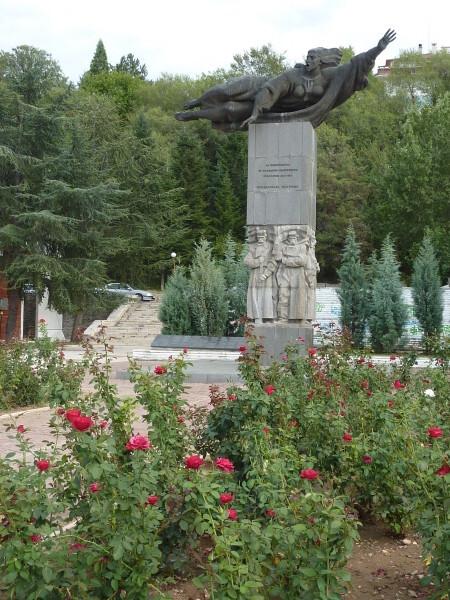 Jour 3 - Blageovgrad - Monument à la Bulgarie