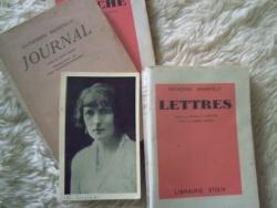 -D.H. Lawrence - Lettres à Katherine Mansfield