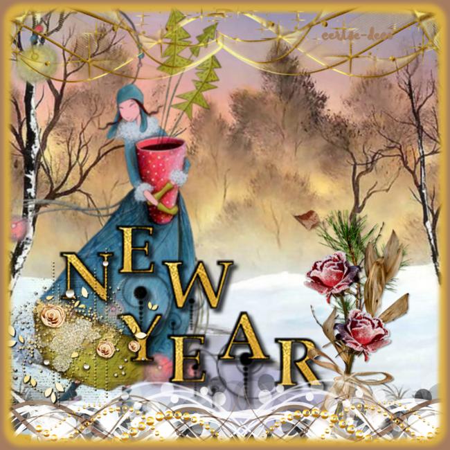 Meilleurs voeux pour la nouvelle année