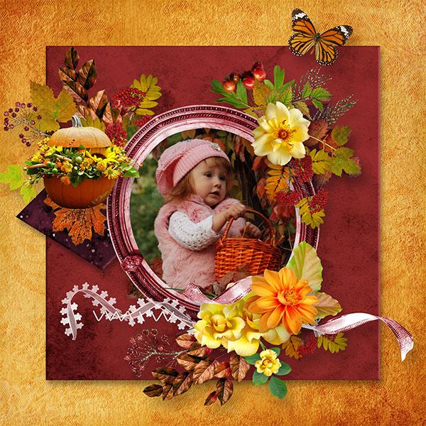 Bonjour l'automne de JosyCréations.