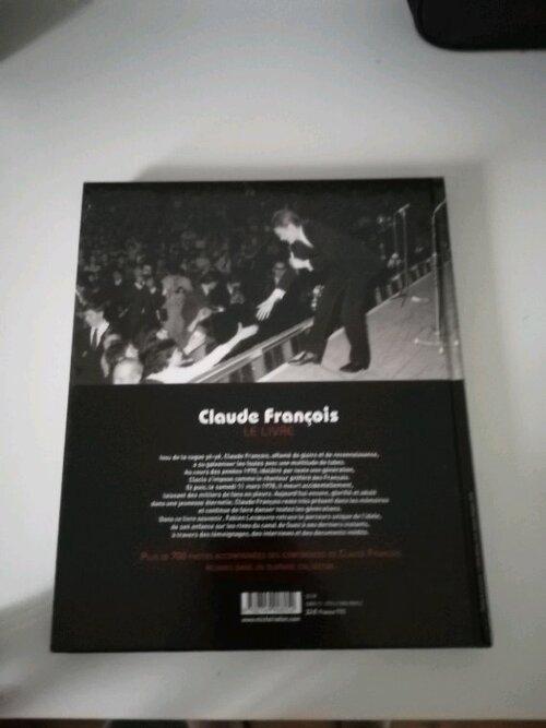 Claude François Le Livre sortie en Février 2008