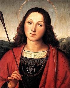 Raphael - Raffaello Sanzio - St Sebastian
