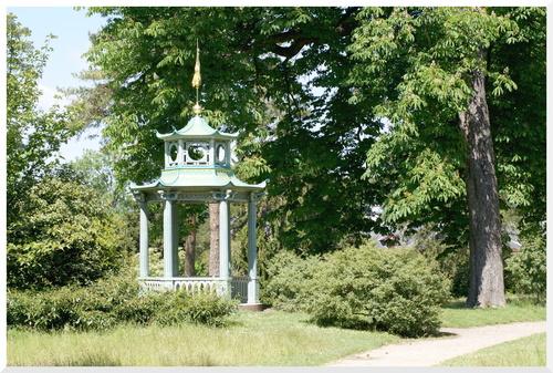Parcs et jardins de Bagatelles Paris.