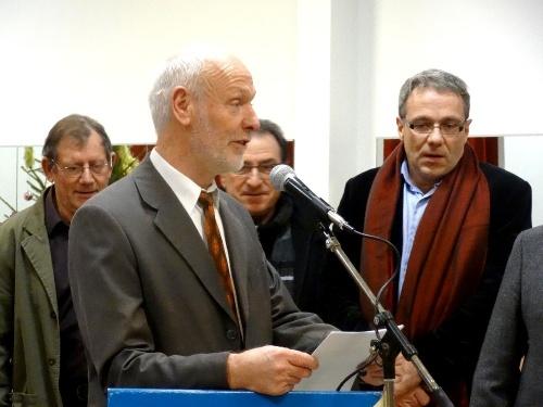 Les Vœux de Francis Castella, Maire de Sainte Colombe sur Seine, pour 2013...