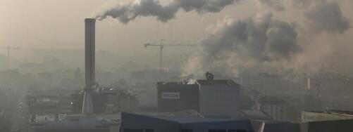 Le ciel pollué de Paris, le 23 septembre 2014.