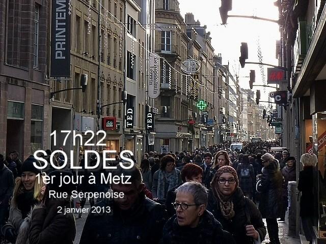 Soldes janvier 2013 Metz 3 Marc de Metz 04 01 2013