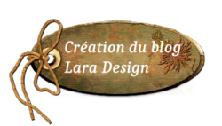 Design du blog Lara
