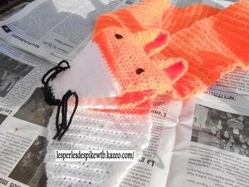 Crochet - Echarpe Renard (1-3)
