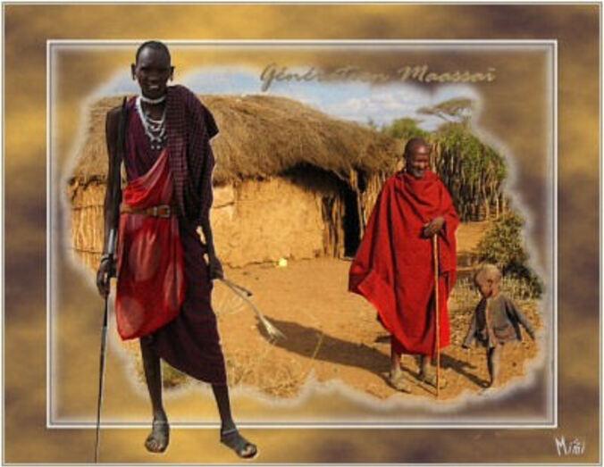 Tribu Massaï