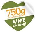 750 grammes aime ce blog