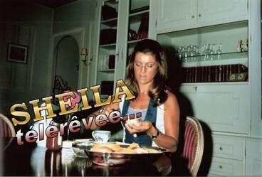 Valescure, été 1973. Sheila vue par Ringo