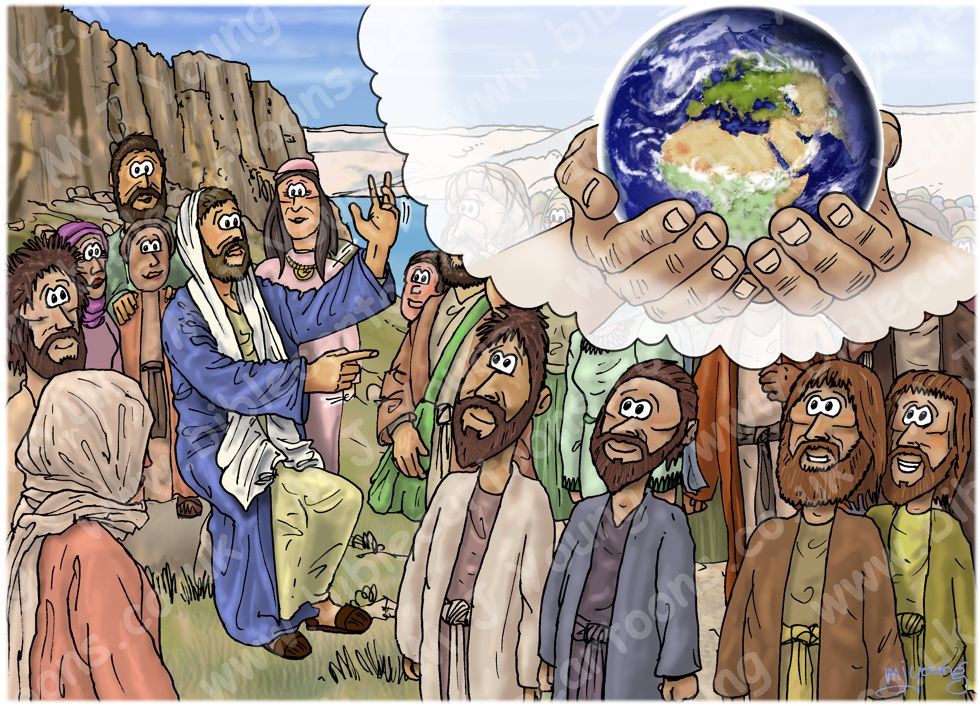 Matthew 05 - The Beatitudes - Scene 03 - Blessed are the meek 980x706px col.jpg
