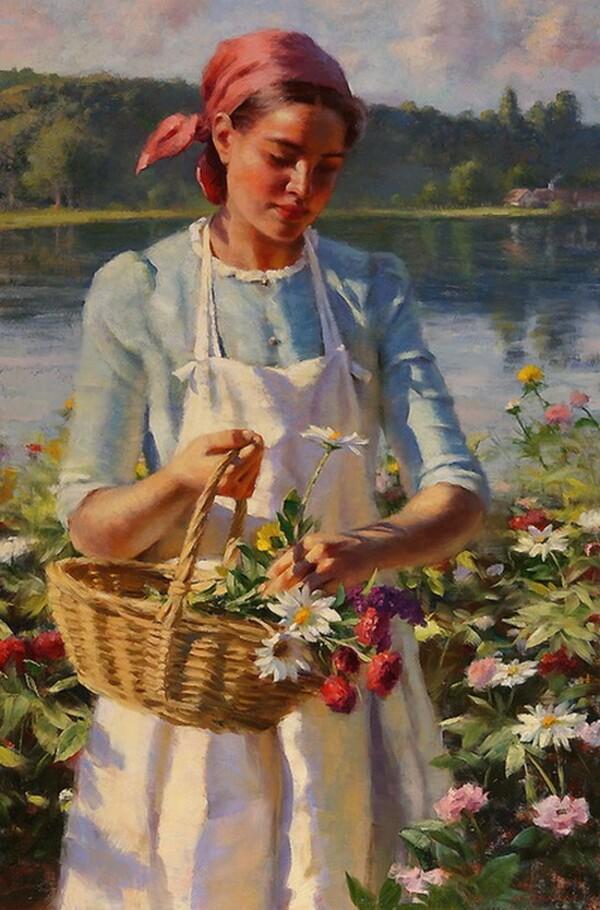 Peinture de : Gregory Frank Harris