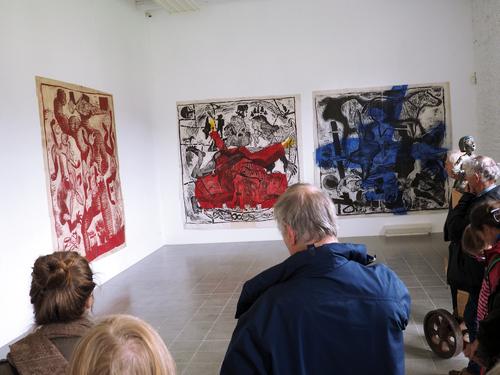 Exposition Nicolas Fedorenko, Kerguehénnec, mai 2018