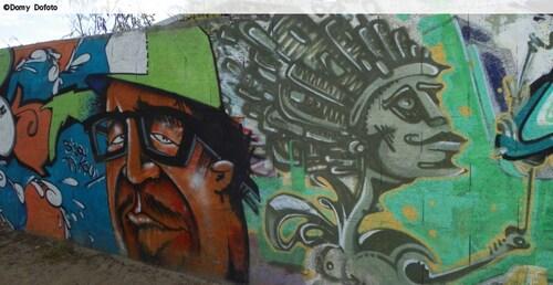 LES TAGS,les graffs un art sur les murs de La Réunion en dehors de notre ami Jace ( Gouzous)