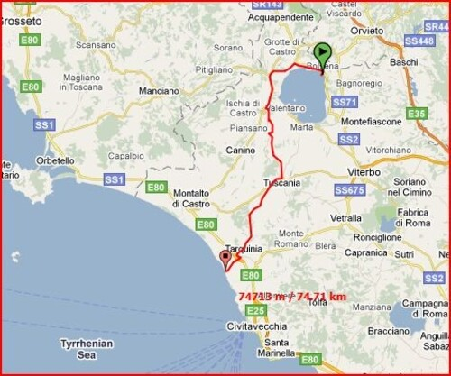 Etape16-Bolsena(IT)-Tarquinia(IT)