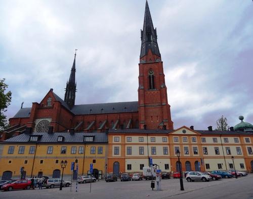 Uppsala en Suède; autour de la cathédrale et de l'Université (photos)