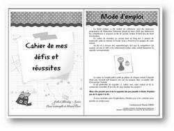 ~Des cahiers de réussite en maternelle~