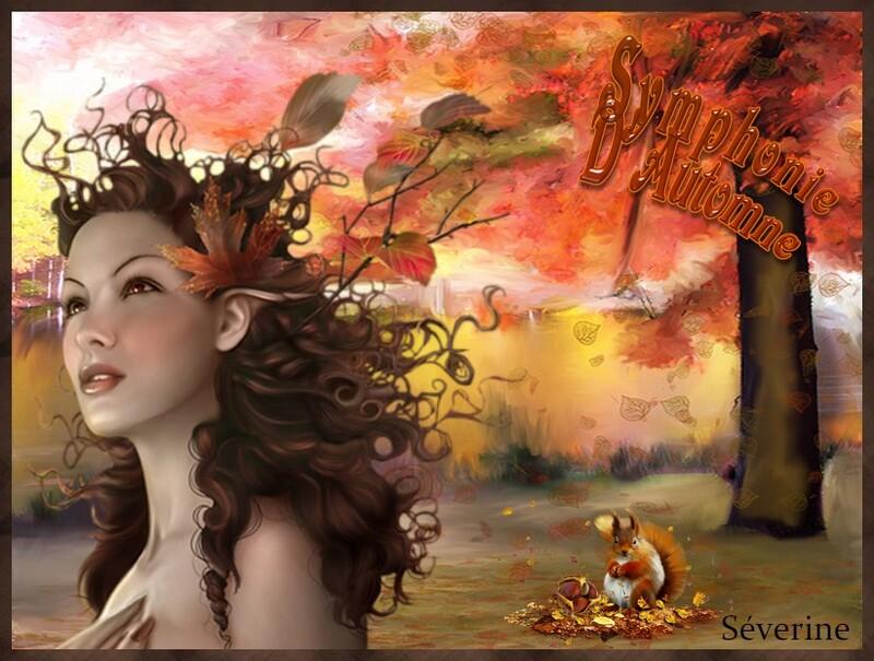 """Défi N° 5 thème  """"Symphonie d'automne"""""""