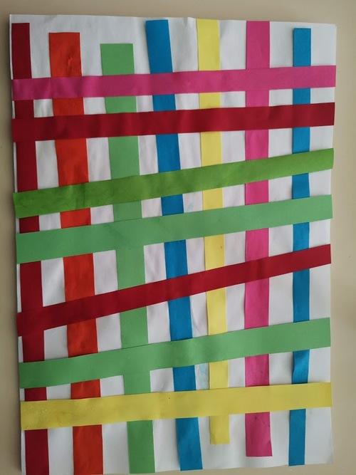 Graphisme Quadrillage S.2 : les bandes de papier à coller