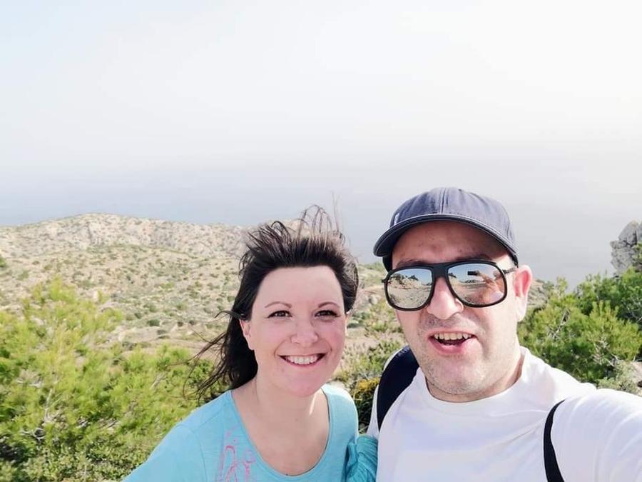 balade de mes amis isabelle et son mari, à Majorque