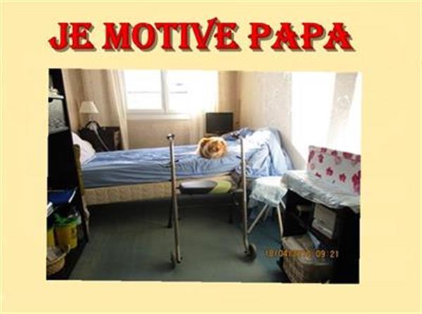 nouveau kiné pour Papa