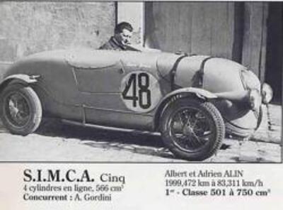 Simca (1937-1939)