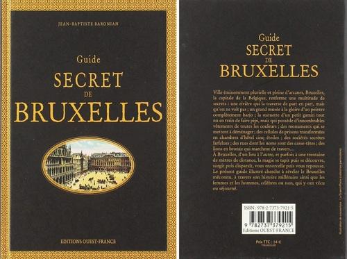 Jean-Baptiste Baronian - Guide secret de Bruxelles (2019)