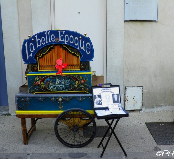 Orgues de Barbarie et Limonaires à Roquemaure