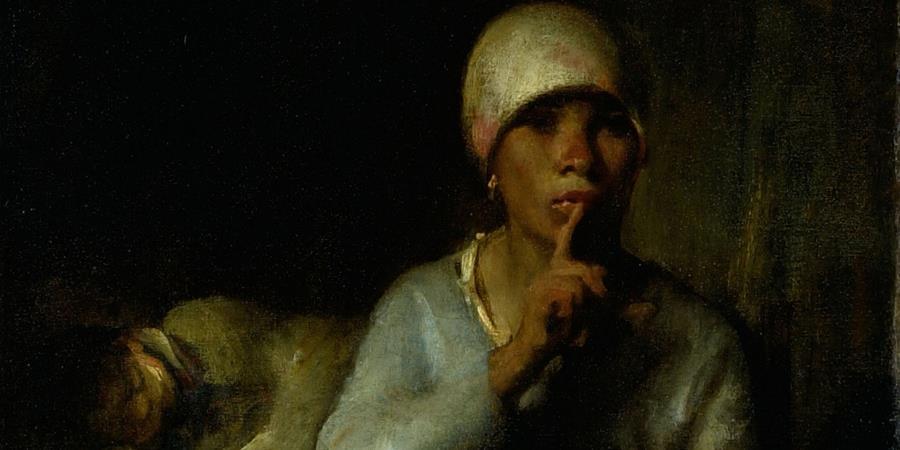 Crédit d'image: Femme et enfant (Silence) (détail), Jean-François Millet, 1855, Art Institute of Chicago, Chicago, Illinois.