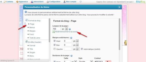 Comment faire un bon blog: Etape 1: L'en-tête/header