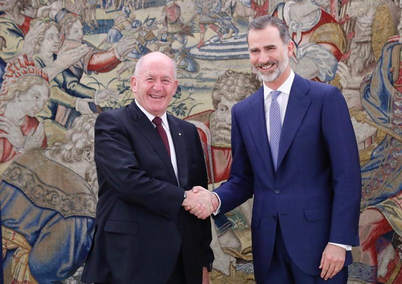 Le roi et le gouverneur