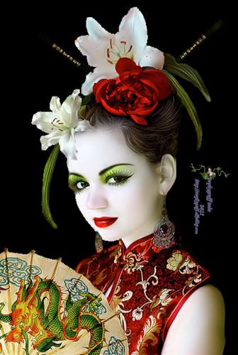 tubes femmes orientales